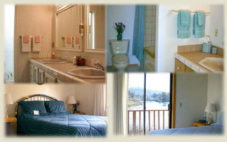 Guest Rooms at Lowden's Beachfront and Breakfast